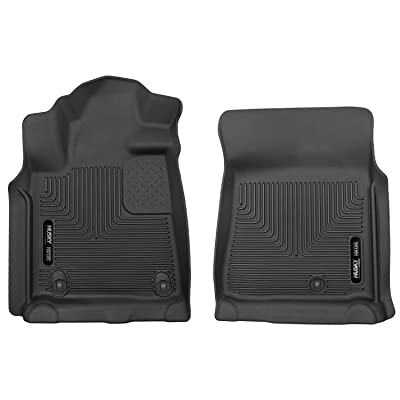 Husky Liners Fits 2007-11 Toyota Tundra CrewMax/Double Cab/Standard Cab X-act Contour Front Floor Mats: Automotive [5Bkhe2003351]