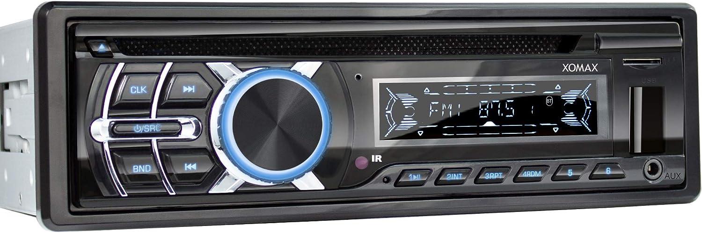 Xomax Xm Cdb624 Autoradio Mit Cd Player I Bluetooth Elektronik