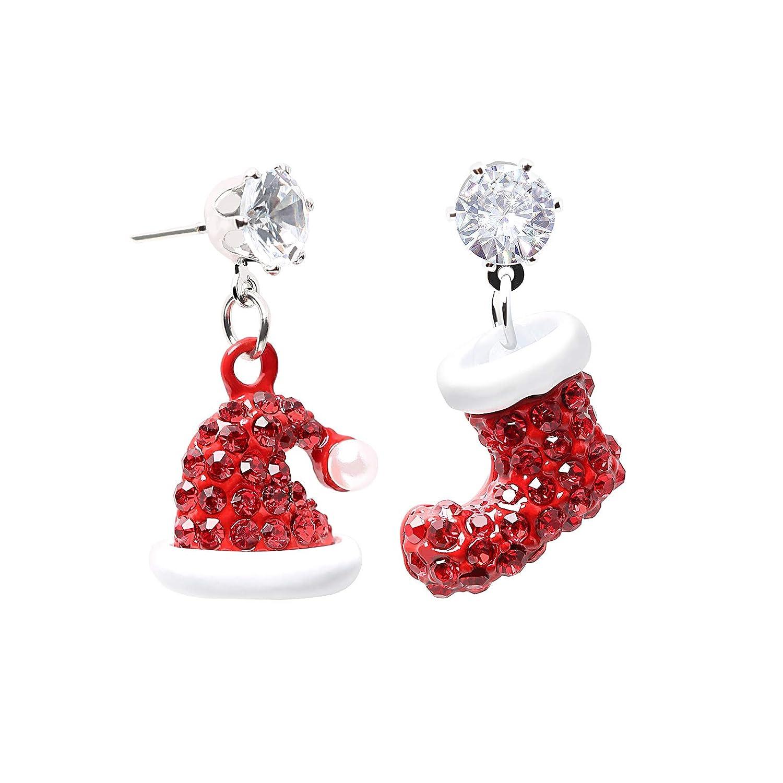 6//8mm Ladies Nose Ring Hoop Crystal Zircon Earrings Jewelry Accessories Decor