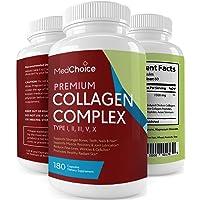 Premium Collagen Complex, 1500mg Multi Collagen Peptides, Vital Proteins Collagen...