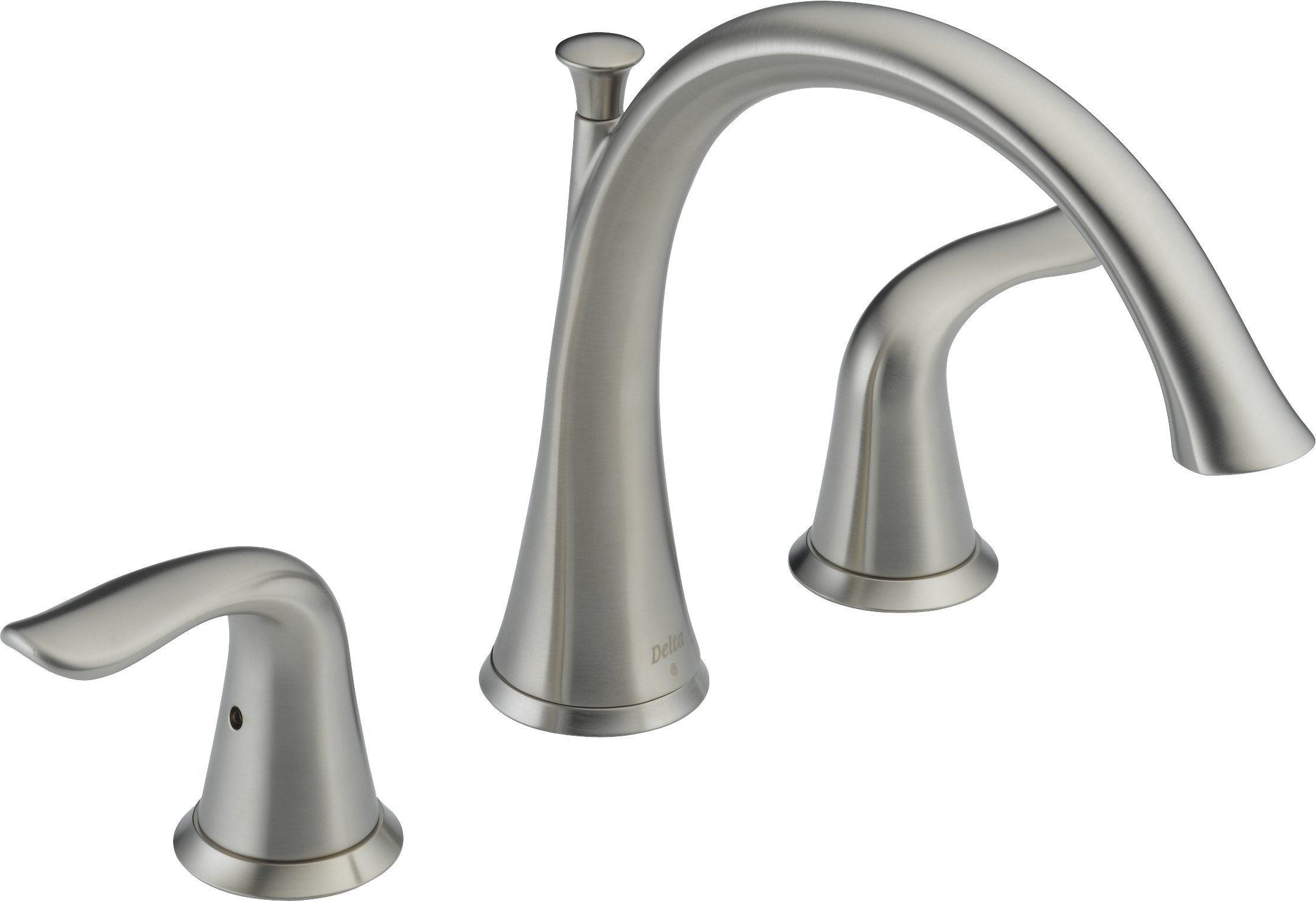 Delta T2738-SS Lahara Roman Tub Trim, Stainless by DELTA FAUCET