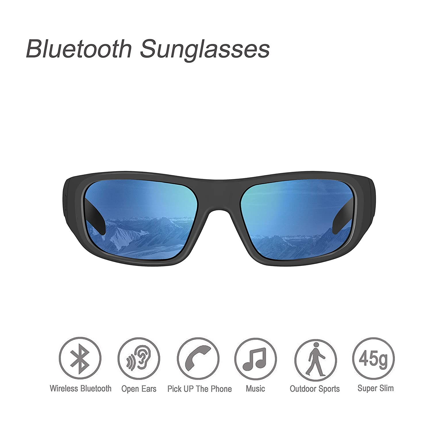 ee3c582fe08 Amazon.com  Bluetooth Sunglasses