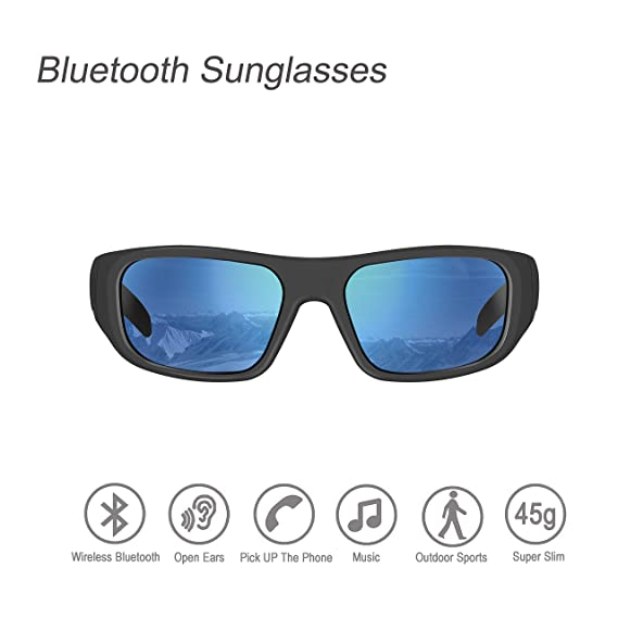 d9a0a0fc3a Amazon.com  Bluetooth Sunglasses