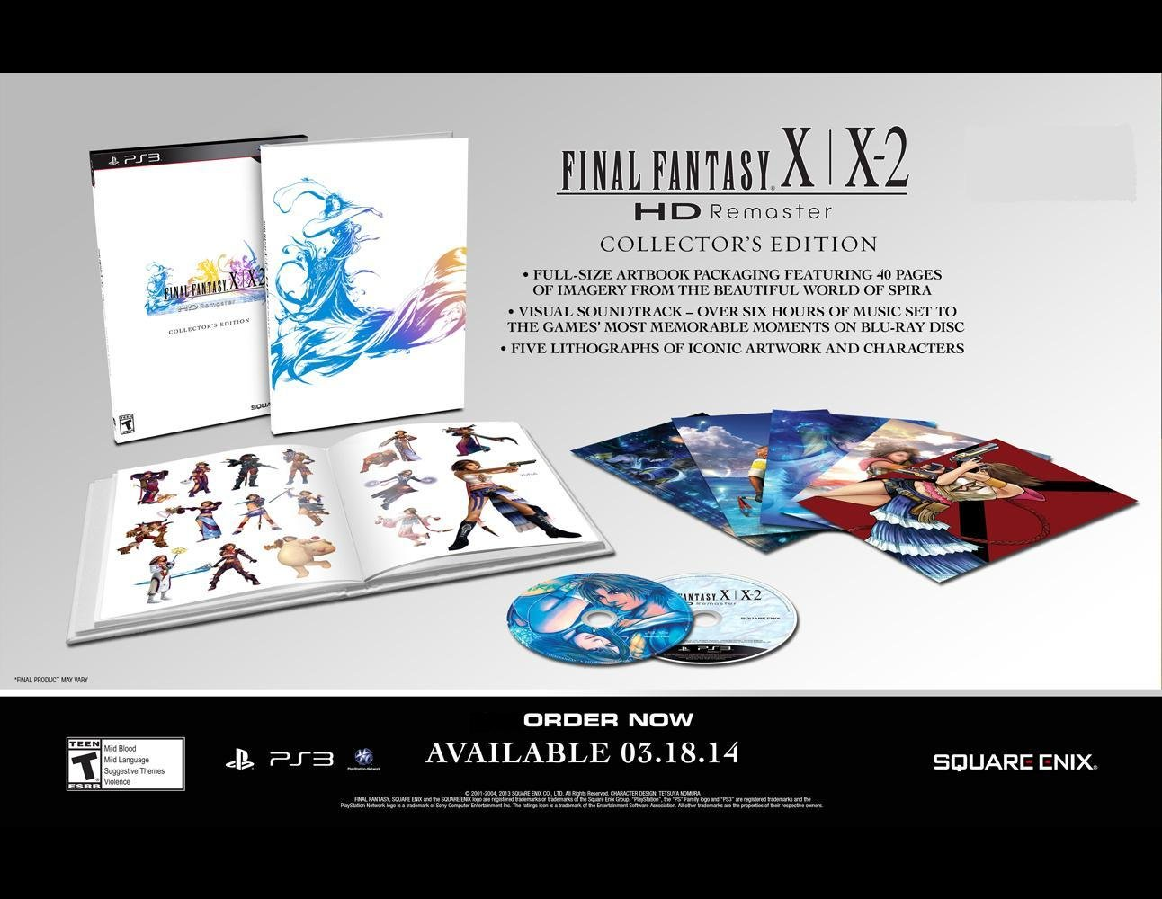 Image final fantasy x-x-2 hd remaster limited edition ps4. Jpg.