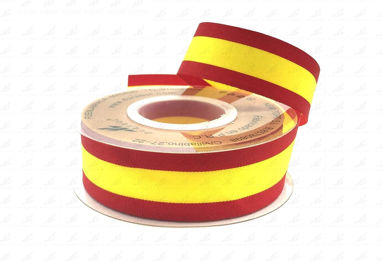 Durabol Cinta Bandera España Hilo paralelas invisibles Pulseras Lazos Pulsera Bandera Flag: Amazon.es: Hogar