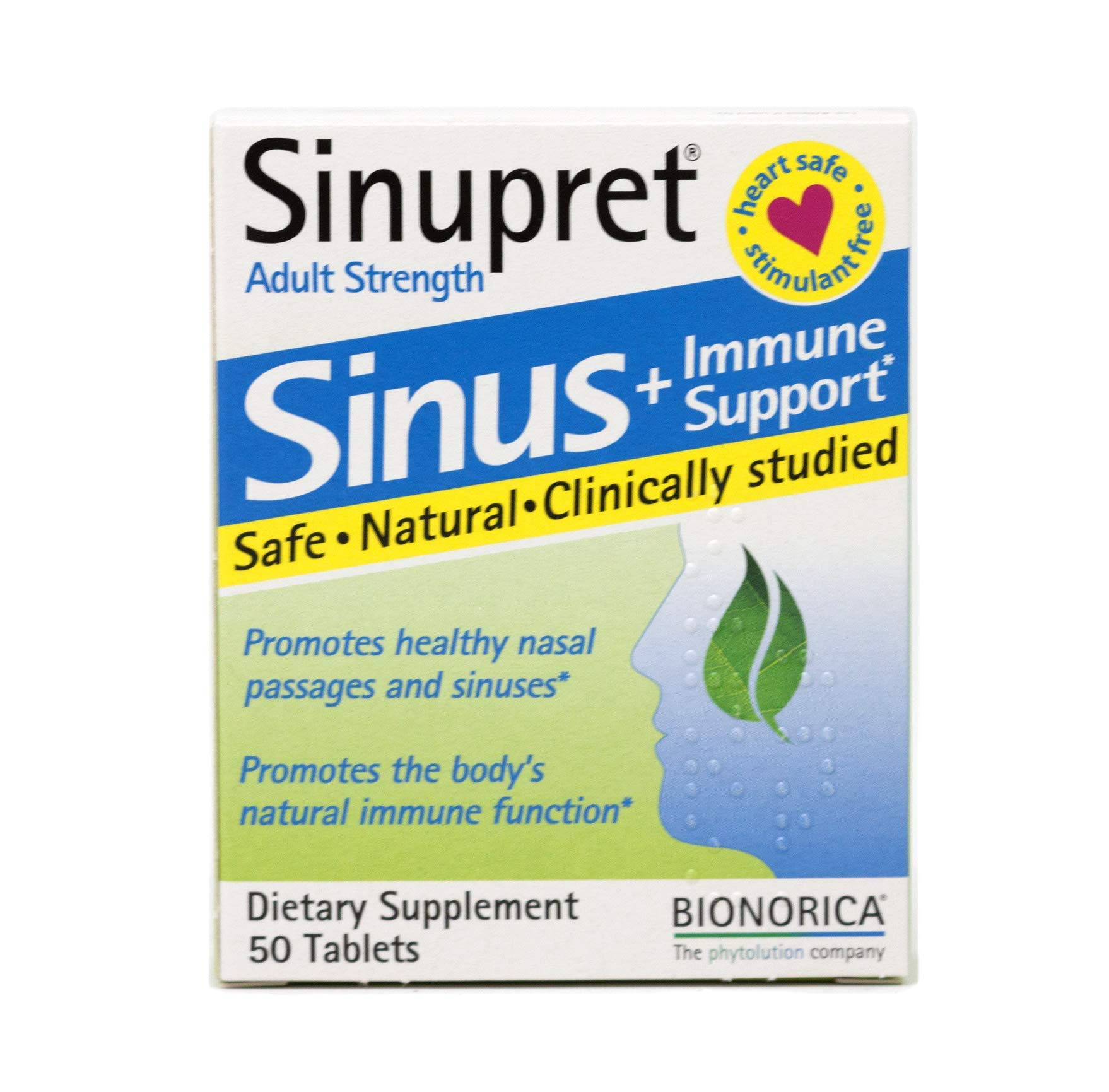 Bionorica: Sinupret Adult tabs, 50 tabs (2 pack) by Bionorica the phytolution company