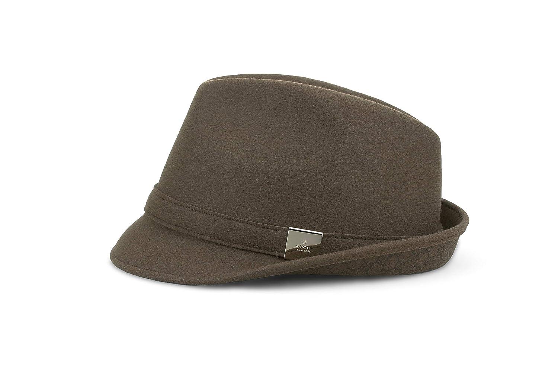 803abf469a4 Amazon.com  Gucci Wool Fedora Hat