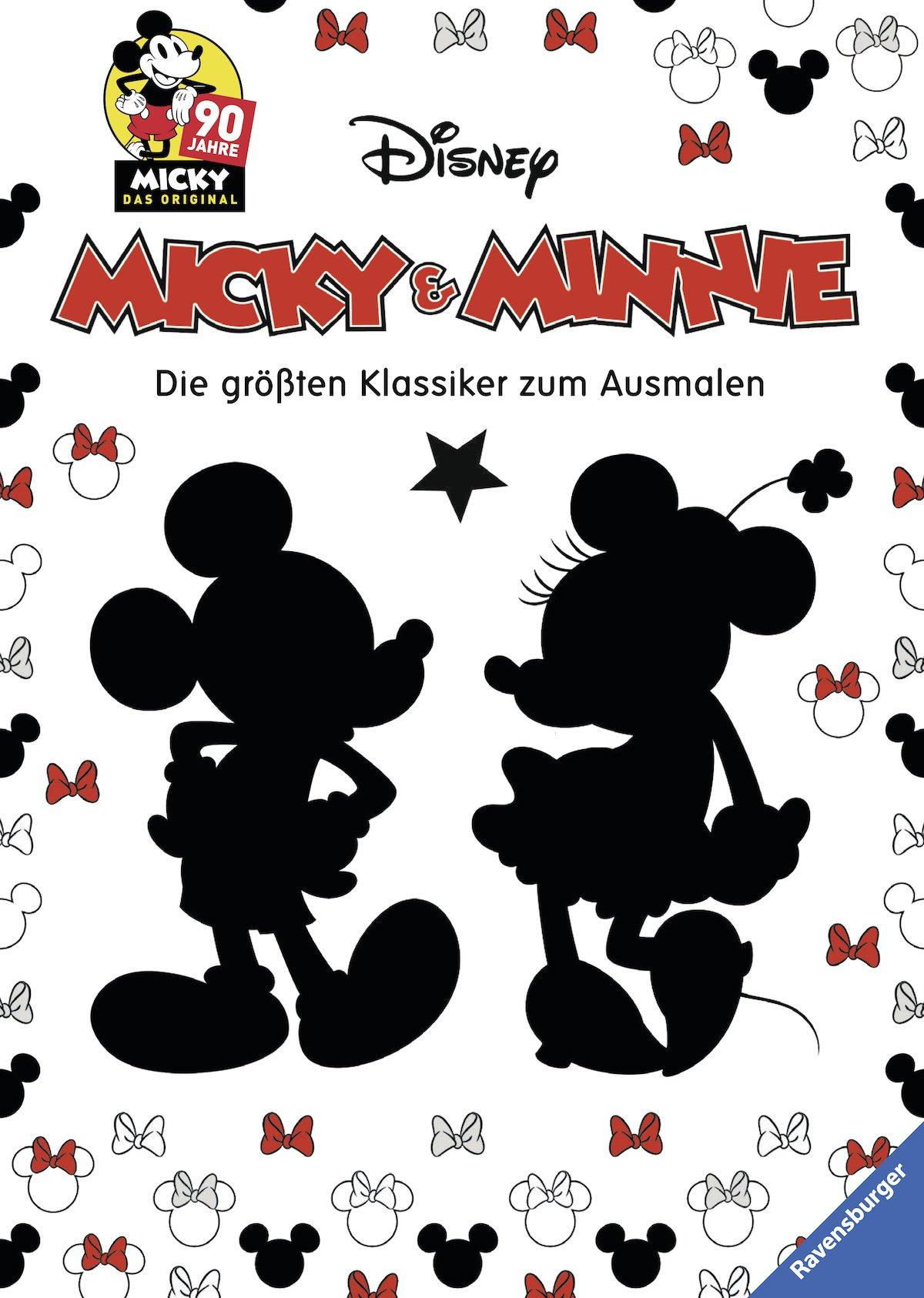 Micky Und Minni Maus Ausmalbilder : Micky Und Minnie Die Gr Ten Klassiker Zum Ausmalen 90 Jahre