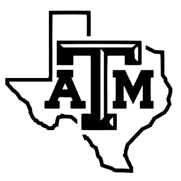 Texas aaggies vinyl decal sticker