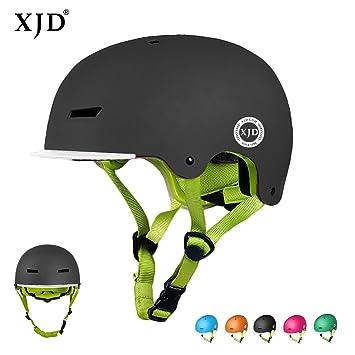 Amazon.com: XJD - Casco infantil para bicicleta, certificado ...
