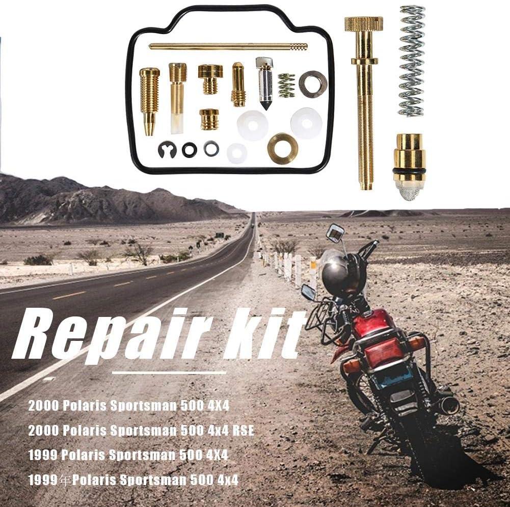 AFFEco Kit de r/éparation de carburateur pour Polaris Sportsman 500 4x4 RSE 1999 2000 Carb Rebuild