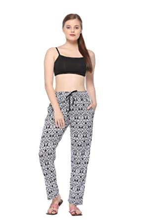 20c0951c0 CUPID Comfortable Printed Women Girls Cotton Lowers Track Pants ...