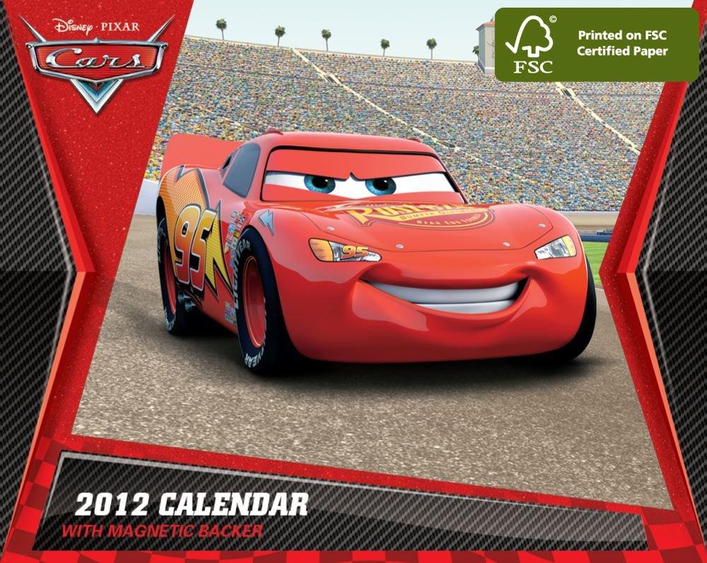 Disney Cars: 2012 Mini Day-to-Day Calendar