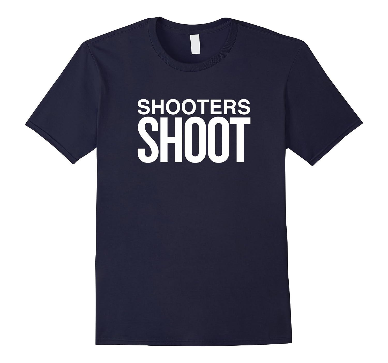 Shooters Shoot Sports Fan Basketball Football Soccer T-Shirt-Art
