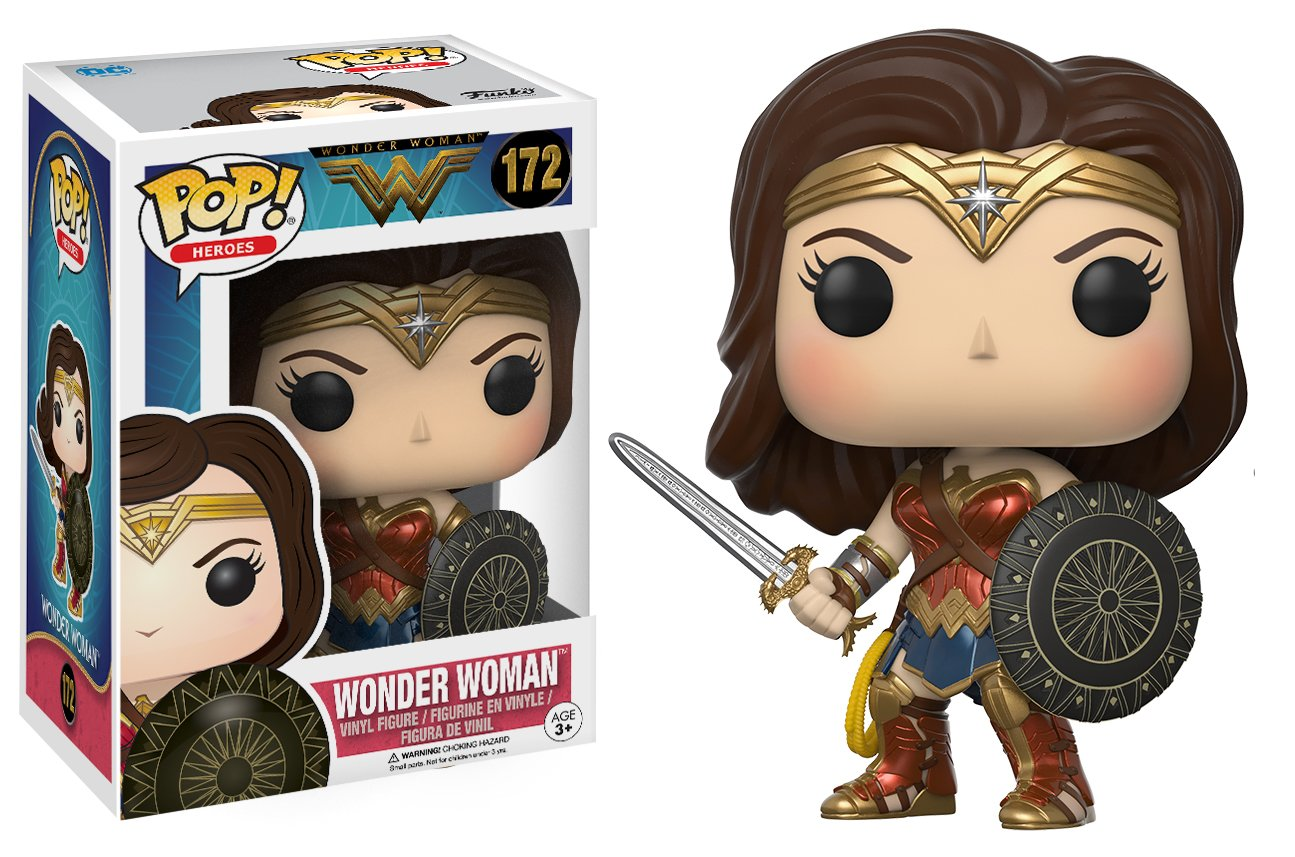 Image result for wonder woman pop vinyl