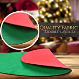ABOAT 30 inches Red and Green Reversible
