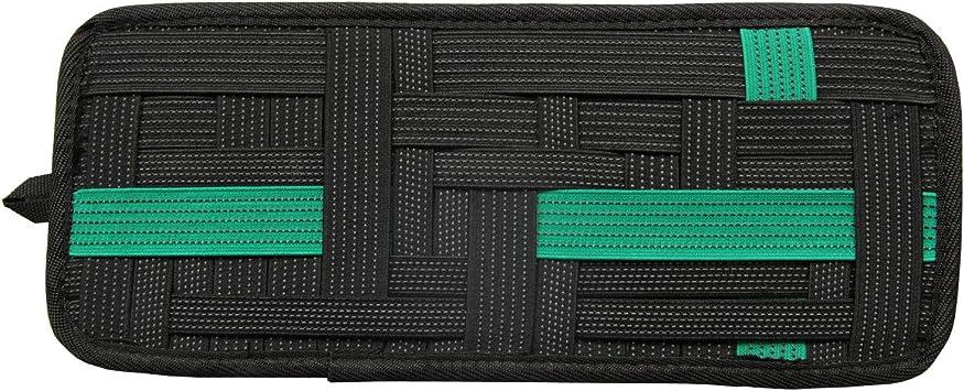 Black LZVTO Organizer,Sun Visor Elastic Storage Plate,13.39 Inches X 5.52 Inches