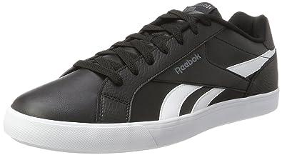 Reebok Royal Complete 2ll, Sneakers Basses Homme, Noir (Black/White/Alloy), 46 EU