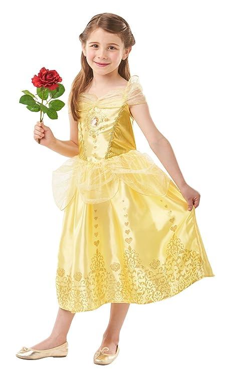 "Amazon.com: Disney Princess Belle ""Gem"" Fancy Dress Costume ..."