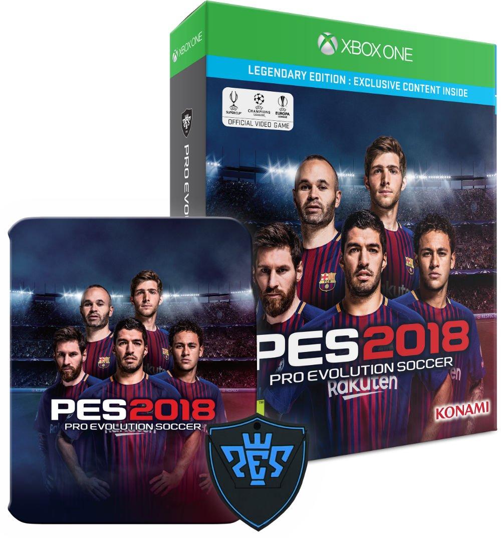 Amazon com: Pro Evolution Soccer 2018 - Legendary Edition