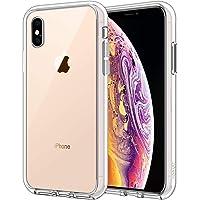 JETech Funda para Apple iPhone XS y iPhone X, Carcasa Bumper, Shock-Absorción y Anti-Arañazos (HD Clara)