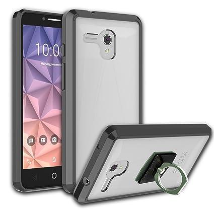 Amazon.com: Alcatel One Touch Fierce XL Funda Transparente ...