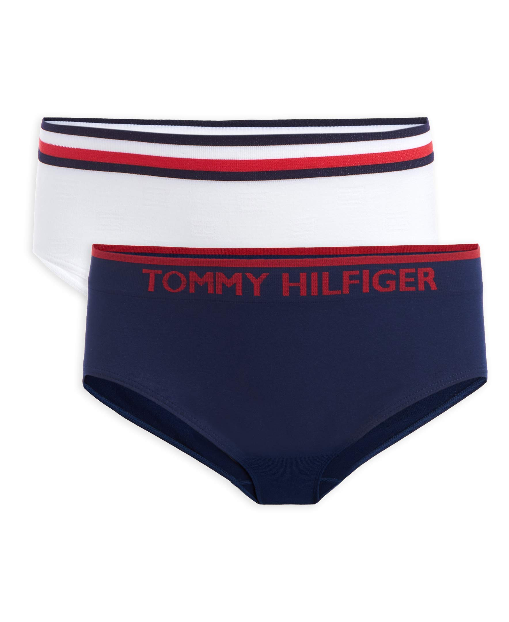 Tommy Hilfiger Girls' Seamless Hipster (Pack of 2)