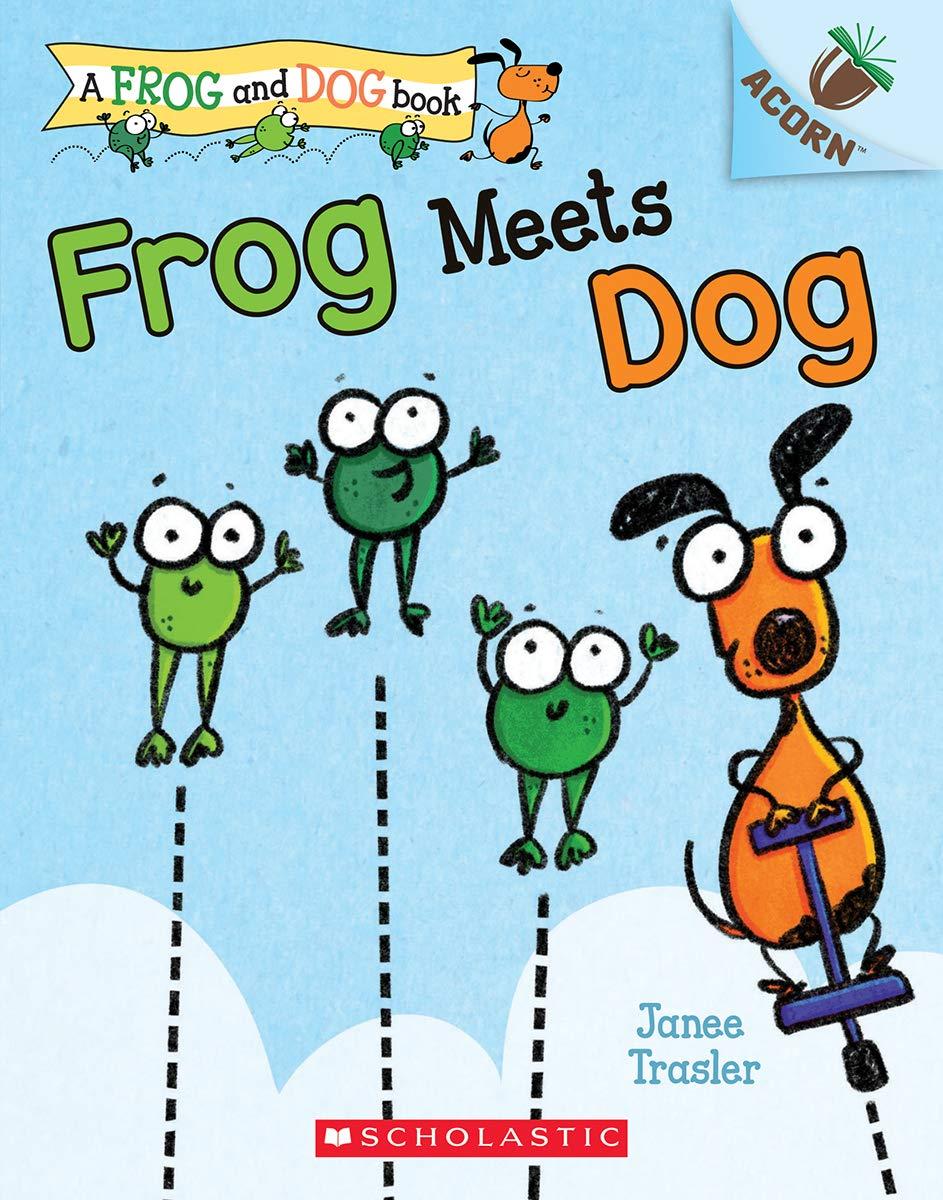 Amazon.com: Frog Meets Dog: An Acorn Book (A Frog and Dog Book) (9781338540390): Trasler, Janee, Trasler, Janee: Books