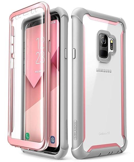 2630d36b7a8 i-BLASON Samsung Galaxy S9 Caso, [Ares] Full-Body Rugged Clear ...
