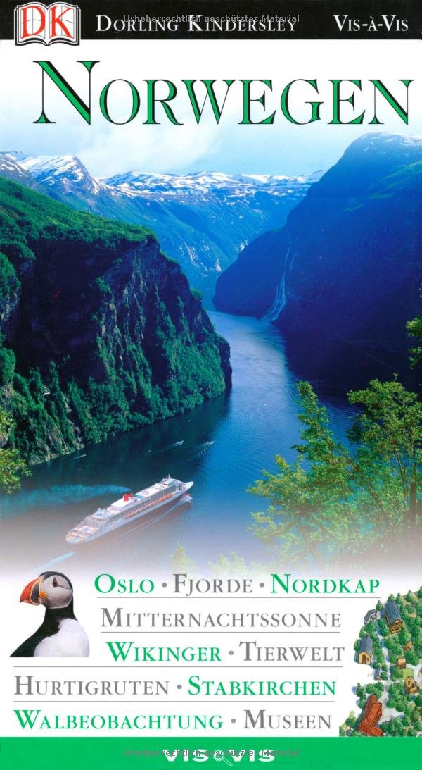 Norwegen. Vis a Vis Gebundenes Buch – November 2010 Snorre Evensberget Linde Wiesner Dorling Kindersley 3831004234