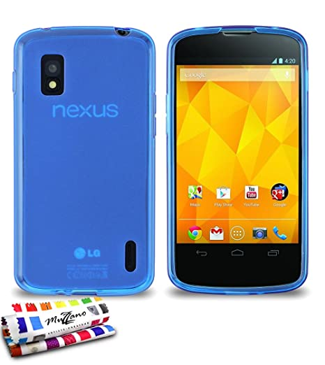 Muzzano F19773 - Funda para LG Nexus 4, color azul: MUZZANO ...