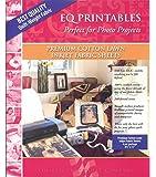 Electric Quilt? Printables - Inkjet Cotton Lawn Fabric Sheets 6/Pkg