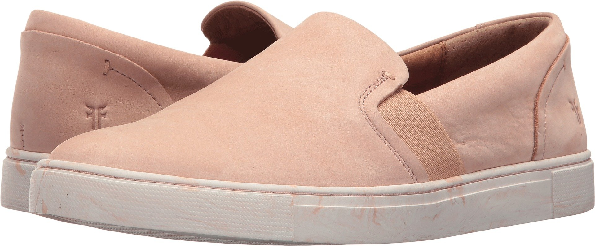 FRYE Women's Ivy Slip Sneaker Blush Marbled Outsole 9 M US