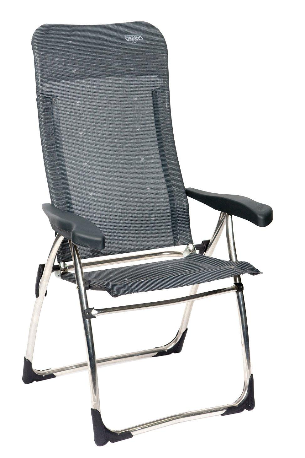 AL-215 Crespo Gris fonc/é Chaise 40