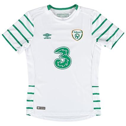 61356402584 Umbro FAI Euro Republic of Ireland 2016/17 Away Soccer Jersey - Adult -  White