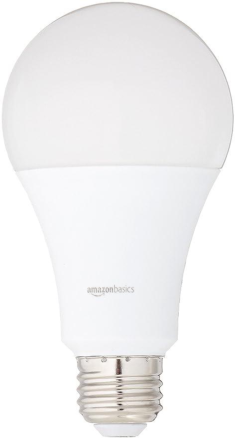 Basics 100 Watt Equivalent Daylight Non Dimmable A21 Led Light Bulb