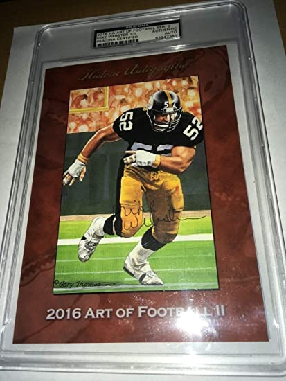 7f5edb048 Image Unavailable. Image not available for. Color: Mike Webster Pittsburgh  Steelers ...