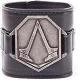 Assassins Creed Metal Logo PU Wristband (Electronic Games) [import anglais]