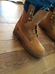 8 inch timberland boots wheat