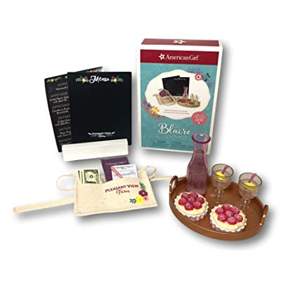 American Girl Blaire Wilson Blaire's Restaurant Accessories for Dolls: Toys & Games