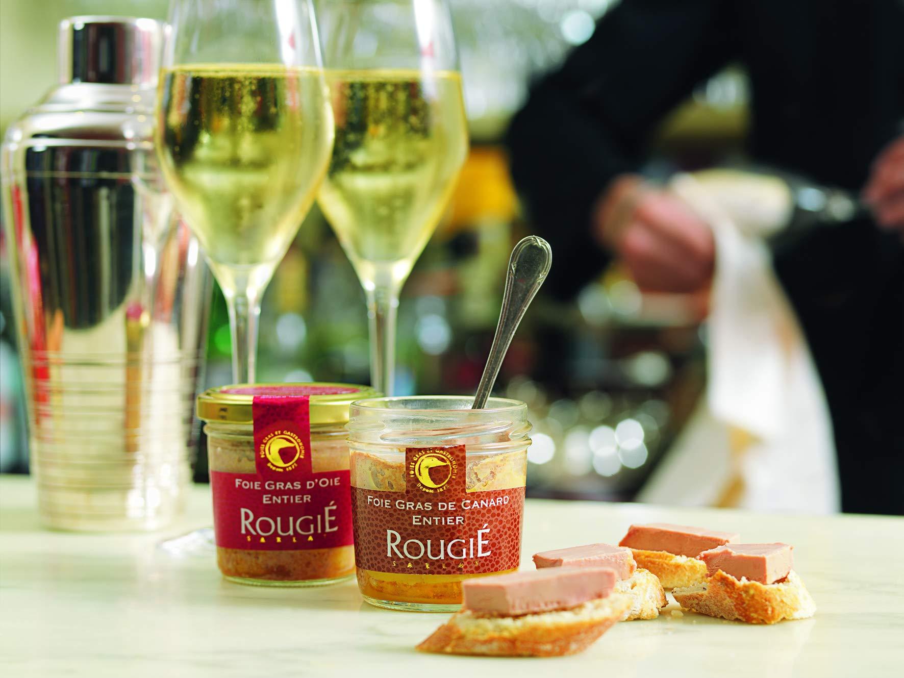 Rougie Duck Foie Gras in Glass Jar 4.4oz