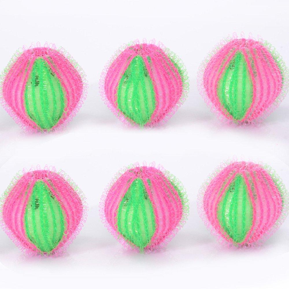 6 Pcs/Pack Hair Grabbing Laundry Washing Machine Clothes Softener Laundry Balls 35mm