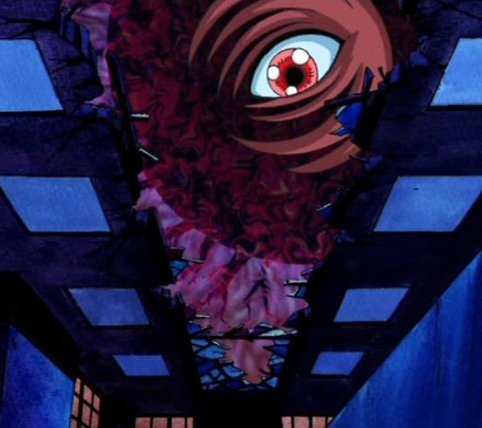ゲゲゲの鬼太郎 Android 960 854 待ち受け 古城に光る黒い眼 アニメ スマホ用画像
