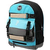 Penny Cyan / Light Blue / Grey Skate Backpack