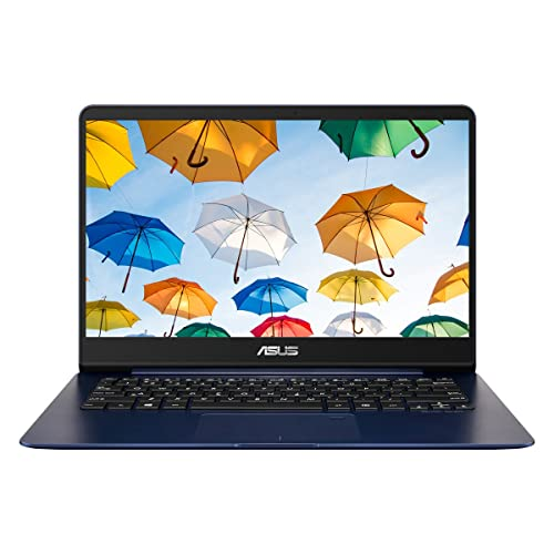 ASUS Zenbook UX430UA-GV232T 14-Inch Full HD Nano Edge Screen (Blue) - (Intel Core i7-7500U, 8GB RAM, 256GB SSD, Bluetooth 4.1, Harman Kardon Speakers, Windows 10)