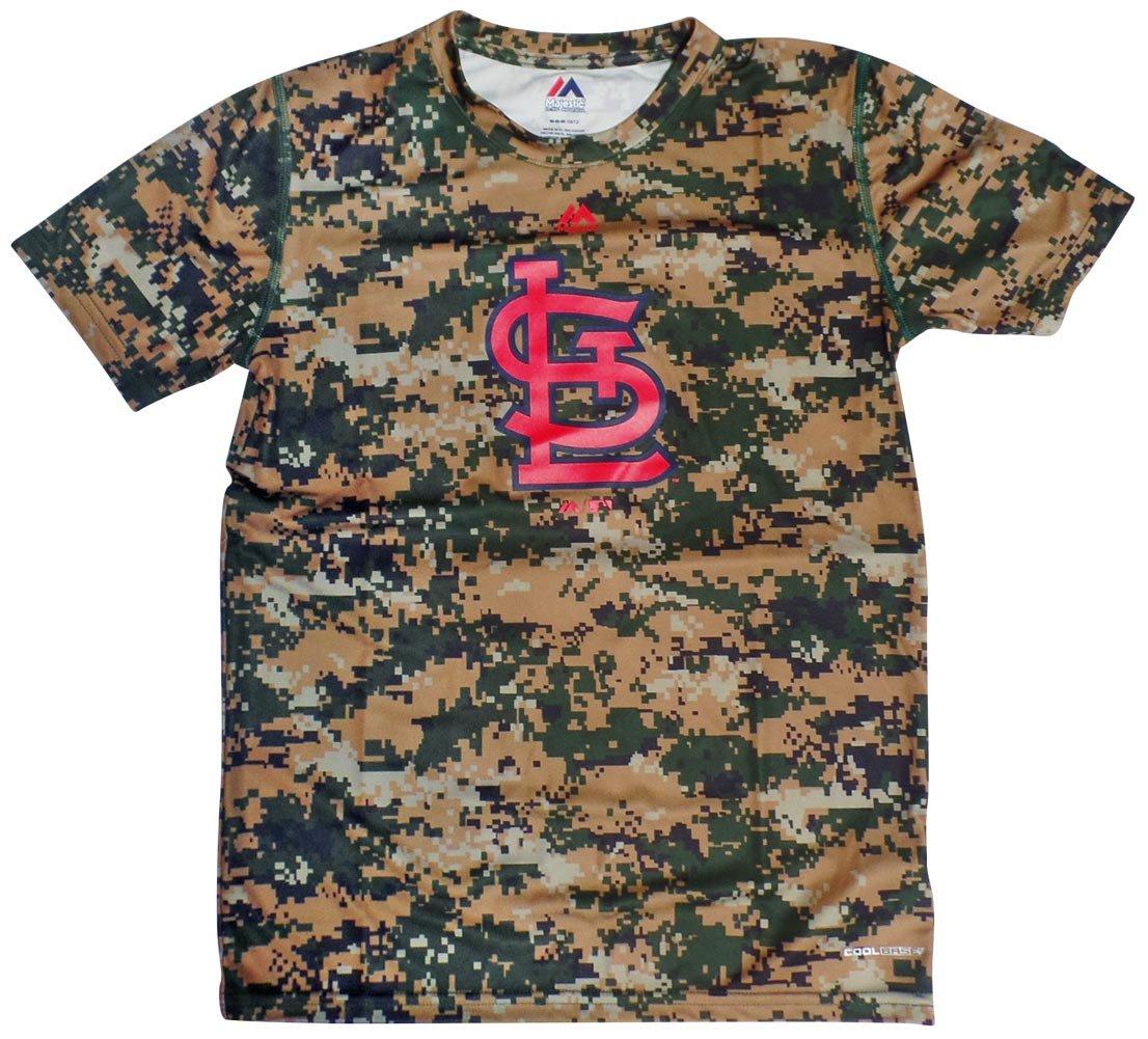 贈り物 Louis Cardinals Youthデジタル迷彩クールベースTシャツ Cardinals Large Large 14-16 14-16 B071FHTF2P, IFC e-shop:cde77d0c --- a0267596.xsph.ru