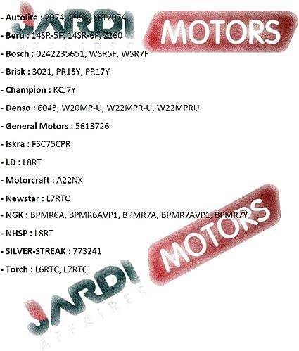 Jardiaffaires Kerze Champion RCJ7Y f/ür Thermomotor