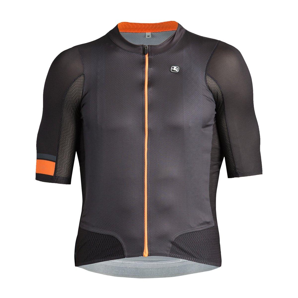 Giordana nx-g Air Road Bike Jersey – Men 's B07BDQ1FXL X-Large|チャコール/オレンジ チャコール/オレンジ X-Large