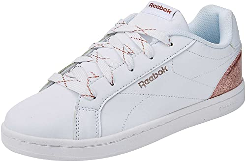 Reebok Royal Complete CLN, Zapatillas de Tenis para Niñas, Blanco (White/Rose Gold Sparkle 000), 31 EU: Amazon.es: Zapatos y complementos