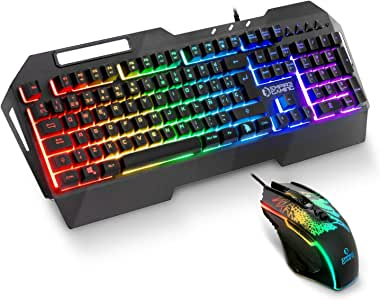 EMPIRE GAMING - Drak Fury Pack de teclado y ratón Gamer – Soporte ...